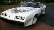 1981 Pontiac Trans Am NASCAR PACE CAR